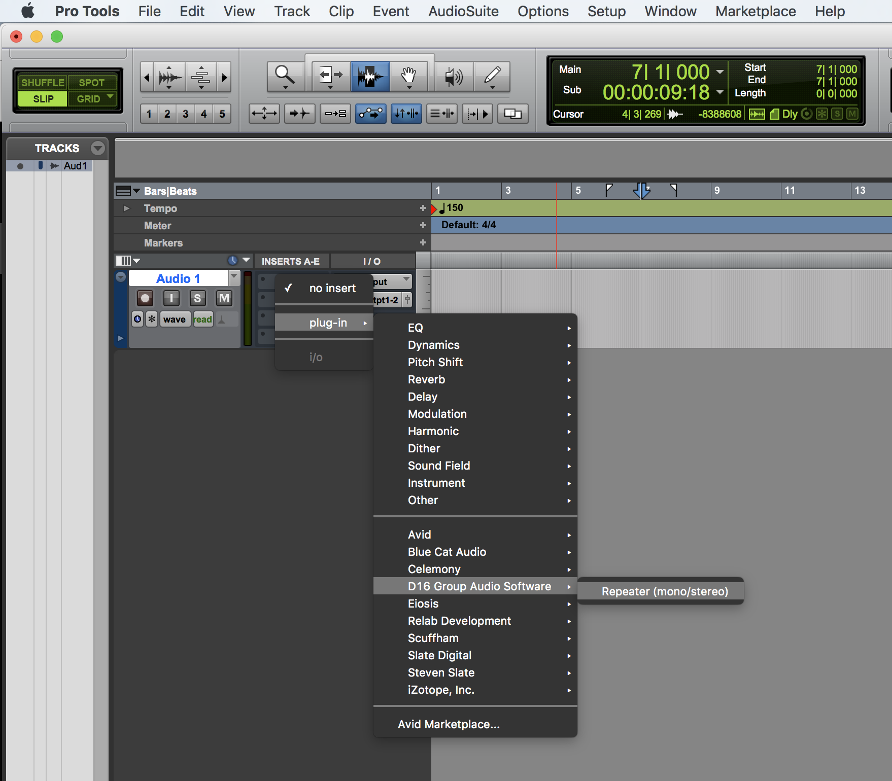 Where to Find Repeater in your Plugins list – Slate Digital